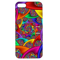 Color Spiral Apple Iphone 5 Hardshell Case With Stand by Simbadda