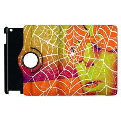 Orange Guy Spider Web Apple Ipad 3/4 Flip 360 Case by Simbadda