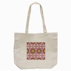Floral Pattern Seamless Wallpaper Tote Bag (cream) by Simbadda