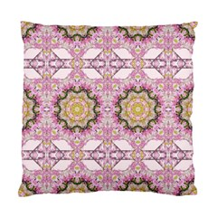 Floral Pattern Seamless Wallpaper Standard Cushion Case (one Side) by Simbadda