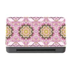 Floral Pattern Seamless Wallpaper Memory Card Reader With Cf by Simbadda