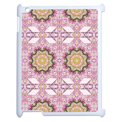 Floral Pattern Seamless Wallpaper Apple Ipad 2 Case (white) by Simbadda