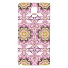 Floral Pattern Seamless Wallpaper Galaxy Note 4 Back Case by Simbadda