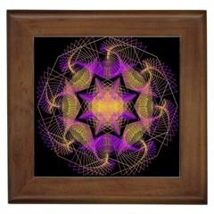 Pattern Design Geometric Decoration Framed Tiles by Simbadda