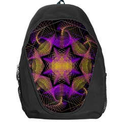 Pattern Design Geometric Decoration Backpack Bag by Simbadda