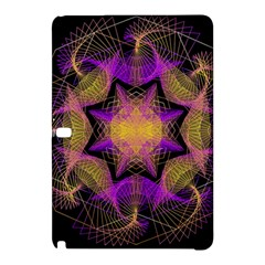 Pattern Design Geometric Decoration Samsung Galaxy Tab Pro 12 2 Hardshell Case by Simbadda