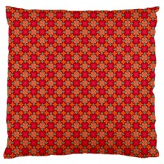 Abstract Seamless Floral Pattern Large Cushion Case (two Sides) by Simbadda