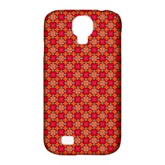 Abstract Seamless Floral Pattern Samsung Galaxy S4 Classic Hardshell Case (pc+silicone) by Simbadda