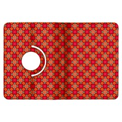 Abstract Seamless Floral Pattern Kindle Fire HDX Flip 360 Case