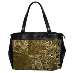 Peacock Metal Tray Office Handbags (2 Sides)  by Simbadda