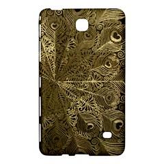Peacock Metal Tray Samsung Galaxy Tab 4 (8 ) Hardshell Case  by Simbadda