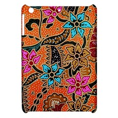 Colorful The Beautiful Of Art Indonesian Batik Pattern Apple Ipad Mini Hardshell Case by Simbadda