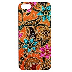 Colorful The Beautiful Of Art Indonesian Batik Pattern Apple iPhone 5 Hardshell Case with Stand by Simbadda