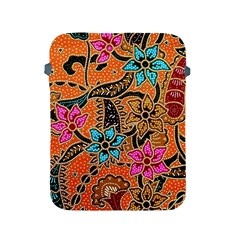Colorful The Beautiful Of Art Indonesian Batik Pattern Apple Ipad 2/3/4 Protective Soft Cases by Simbadda