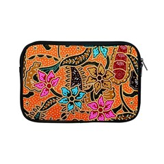 Colorful The Beautiful Of Art Indonesian Batik Pattern Apple Ipad Mini Zipper Cases by Simbadda