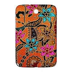 Colorful The Beautiful Of Art Indonesian Batik Pattern Samsung Galaxy Note 8 0 N5100 Hardshell Case  by Simbadda