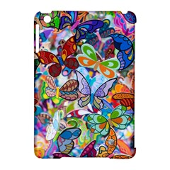 Color Butterfly Texture Apple Ipad Mini Hardshell Case (compatible With Smart Cover) by Simbadda