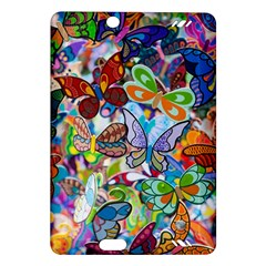 Color Butterfly Texture Amazon Kindle Fire Hd (2013) Hardshell Case by Simbadda