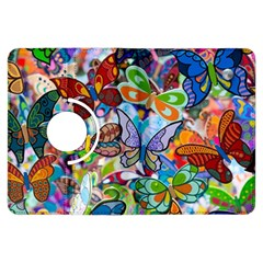 Color Butterfly Texture Kindle Fire Hdx Flip 360 Case by Simbadda