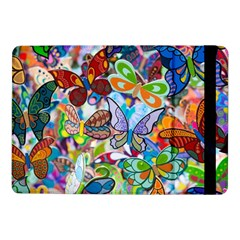 Color Butterfly Texture Samsung Galaxy Tab Pro 10 1  Flip Case by Simbadda