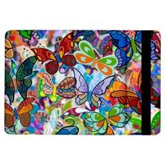Color Butterfly Texture Ipad Air Flip by Simbadda
