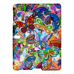 Color Butterfly Texture Samsung Galaxy Tab S (10 5 ) Hardshell Case  by Simbadda