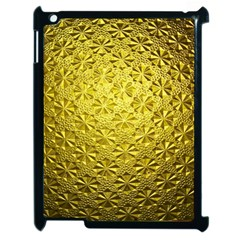Patterns Gold Textures Apple Ipad 2 Case (black) by Simbadda