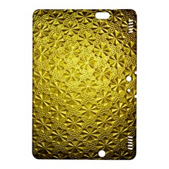 Patterns Gold Textures Kindle Fire Hdx 8 9  Hardshell Case by Simbadda