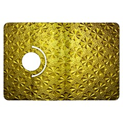 Patterns Gold Textures Kindle Fire Hdx Flip 360 Case by Simbadda