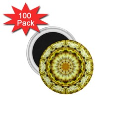 Fractal Flower 1 75  Magnets (100 Pack)  by Simbadda
