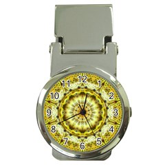 Fractal Flower Money Clip Watches by Simbadda