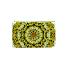 Fractal Flower Cosmetic Bag (xs) by Simbadda