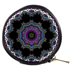 Fractal Lace Mini Makeup Bags by Simbadda