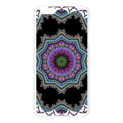 Fractal Lace Apple Seamless iPhone 6 Plus/6S Plus Case (Transparent) by Simbadda