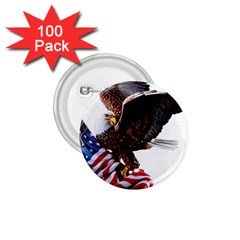 Independence Day United States 1 75  Buttons (100 Pack)  by Simbadda