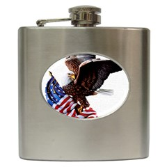 Independence Day United States Hip Flask (6 Oz) by Simbadda