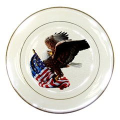 Independence Day United States Porcelain Plates by Simbadda