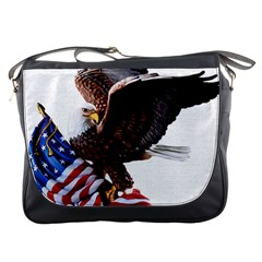 Independence Day United States Messenger Bags by Simbadda