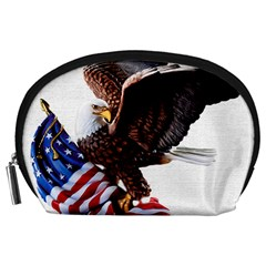 Independence Day United States Accessory Pouches (large)  by Simbadda