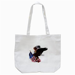 Independence Day United States Tote Bag (white) by Simbadda