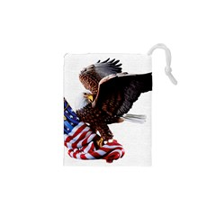 Independence Day United States Drawstring Pouches (xs)  by Simbadda