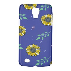Floral Flower Rose Sunflower Star Leaf Pink Green Blue Yelllow Galaxy S4 Active by Alisyart