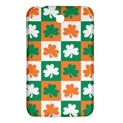 Ireland Leaf Vegetables Green Orange White Samsung Galaxy Tab 3 (7 ) P3200 Hardshell Case  by Alisyart