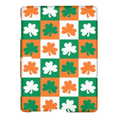 Ireland Leaf Vegetables Green Orange White Samsung Galaxy Tab S (10 5 ) Hardshell Case  by Alisyart