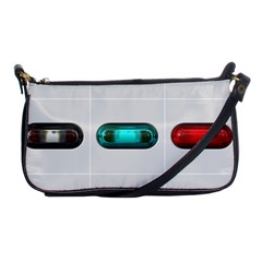 9 Power Button Shoulder Clutch Bags by Simbadda