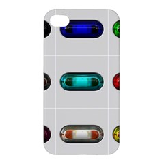 9 Power Button Apple Iphone 4/4s Hardshell Case by Simbadda