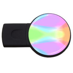 Abstract Background Colorful Usb Flash Drive Round (2 Gb) by Simbadda