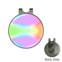 Abstract Background Colorful Hat Clips With Golf Markers by Simbadda