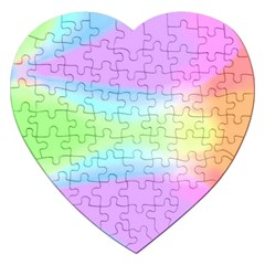 Abstract Background Colorful Jigsaw Puzzle (heart) by Simbadda