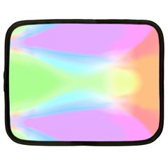 Abstract Background Colorful Netbook Case (XL)  by Simbadda